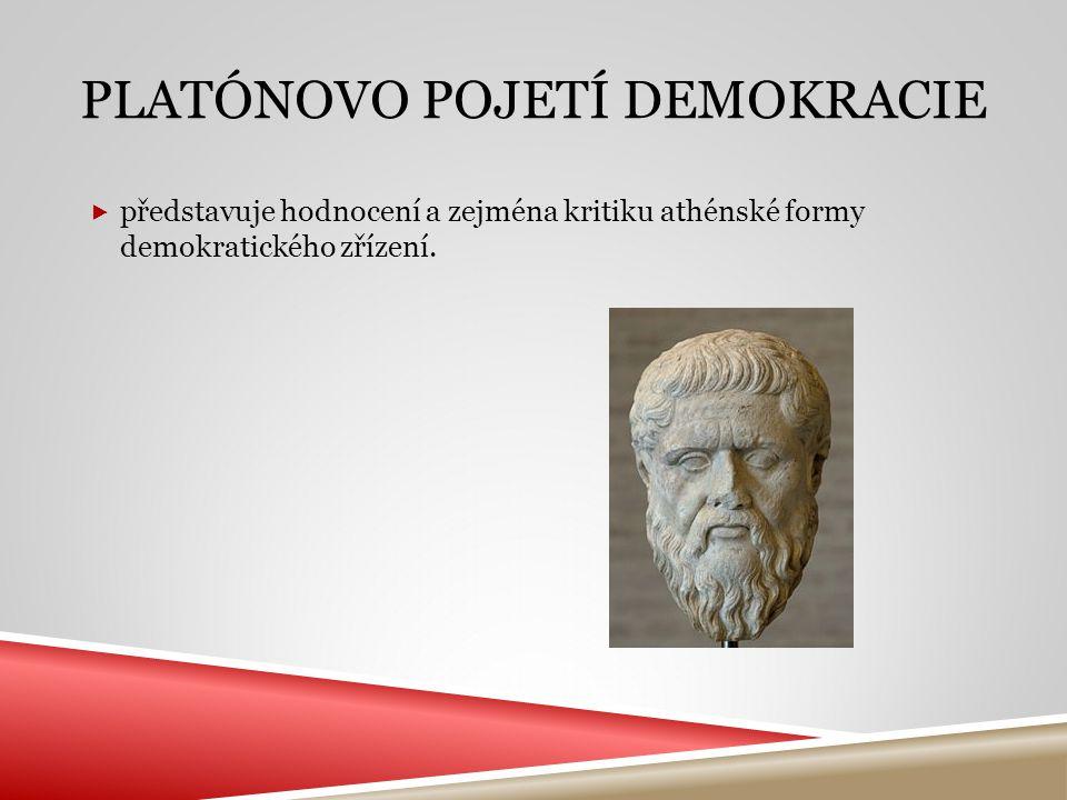 Platónovo pojetí demokracie
