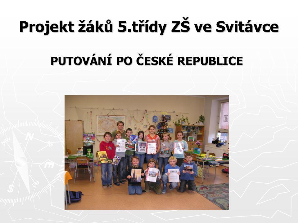Projekt žáků 5.třídy ZŠ ve Svitávce