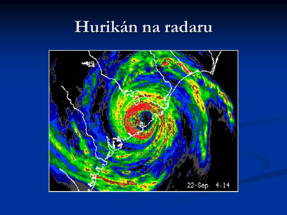 Hurikán na radaru
