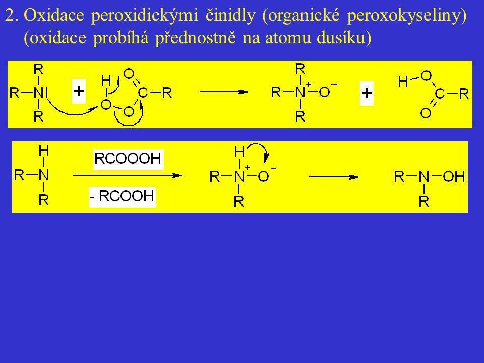 2. Oxidace peroxidickými činidly (organické peroxokyseliny)
