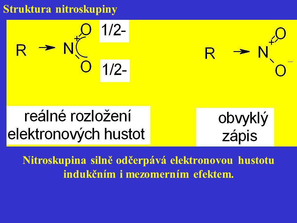 Struktura nitroskupiny