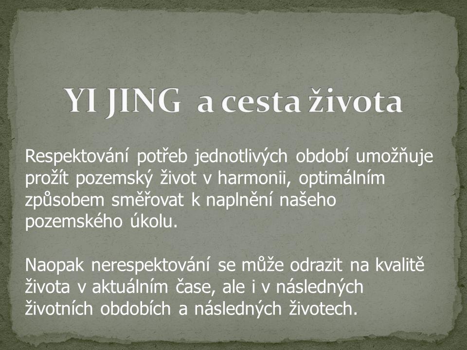 YI JING a cesta života