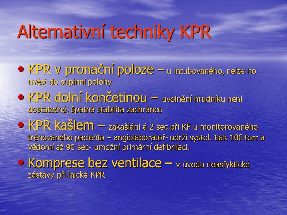 Alternativní techniky KPR