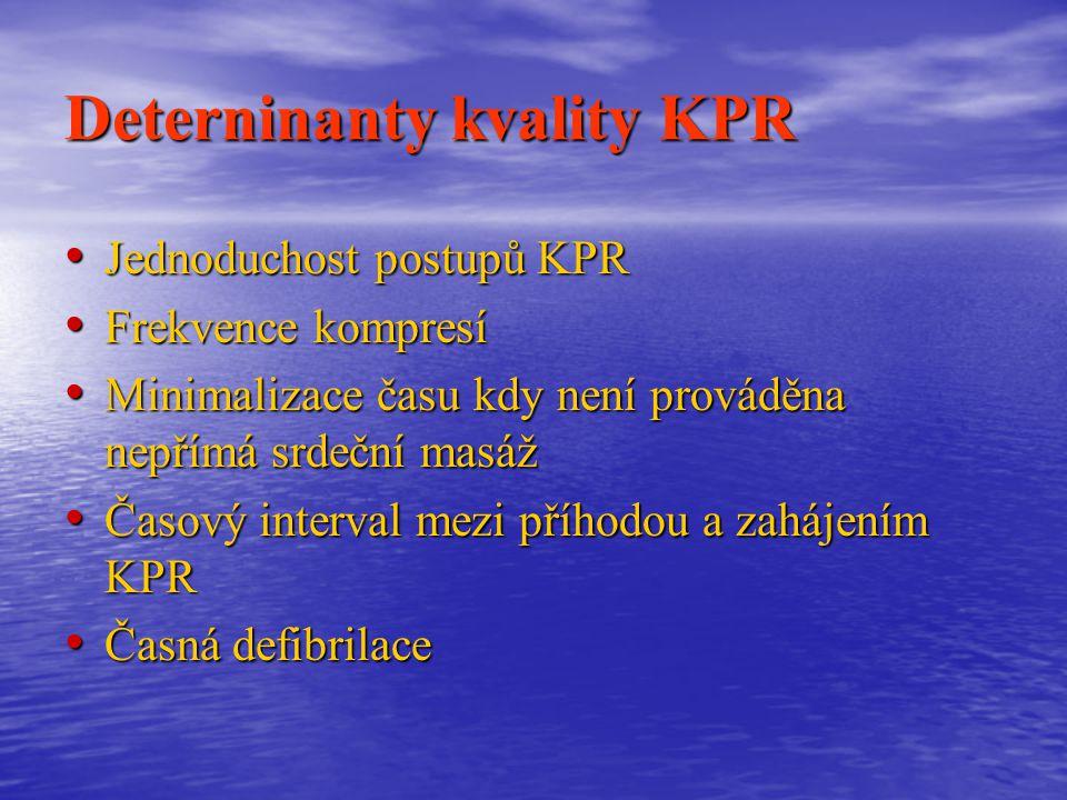 Deterninanty kvality KPR