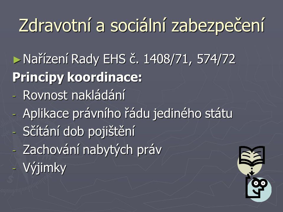 Zdravotní a sociální zabezpečení