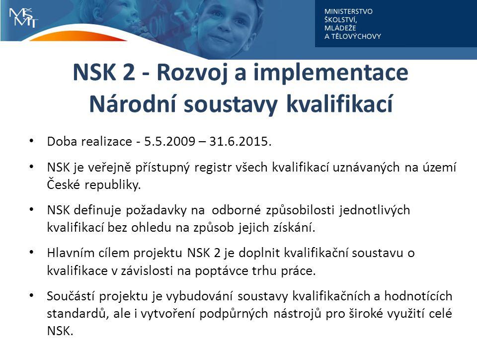 NSK 2 - Rozvoj a implementace Národní soustavy kvalifikací