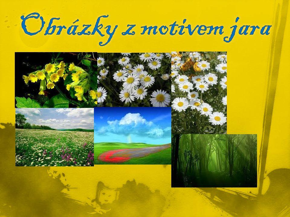 Obrázky z motivem jara