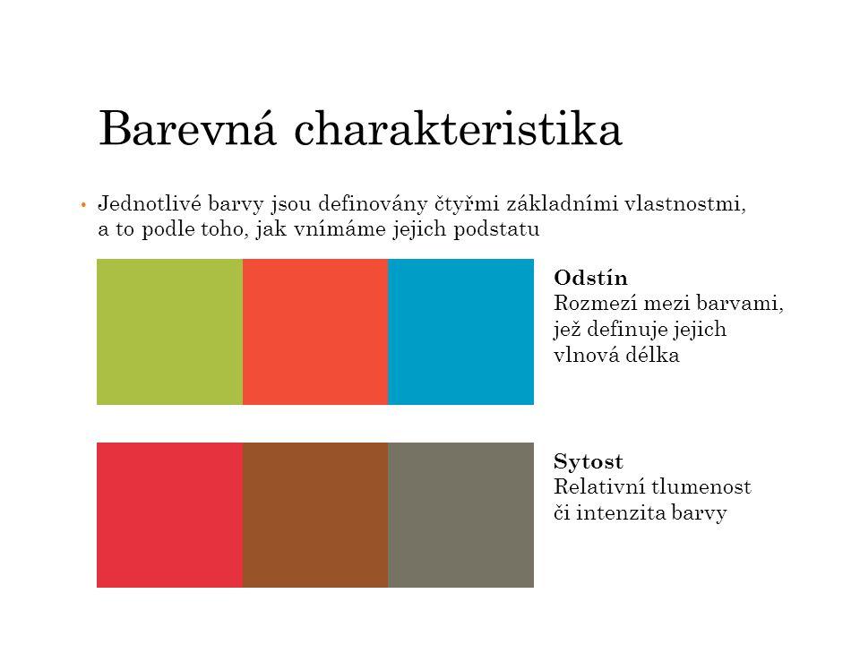 Barevná charakteristika