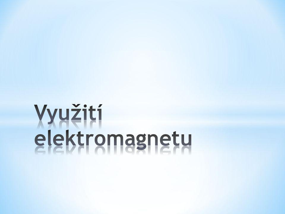Využití elektromagnetu