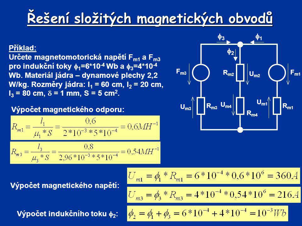 Řešení složitých magnetických obvodů
