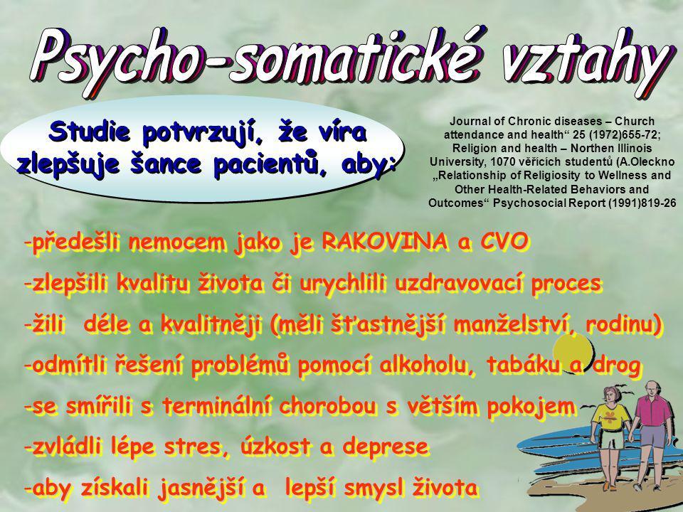 Psycho-somatické vztahy