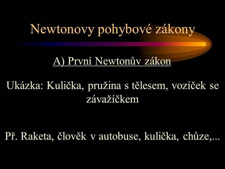 Newtonovy pohybové zákony