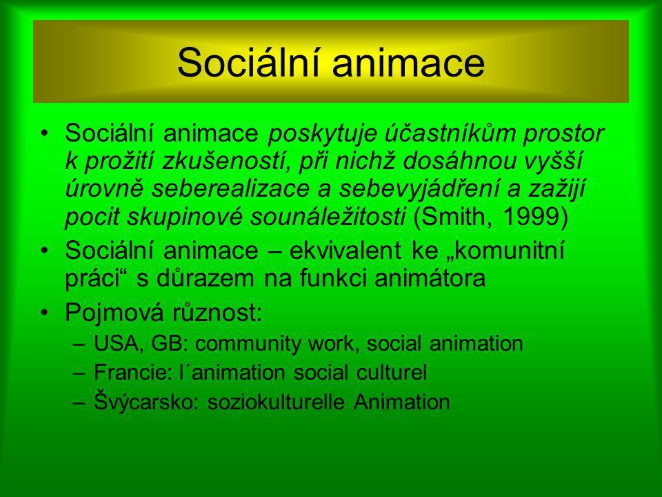 Sociální animace