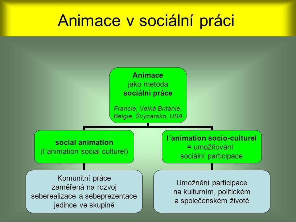 Animace v sociální práci