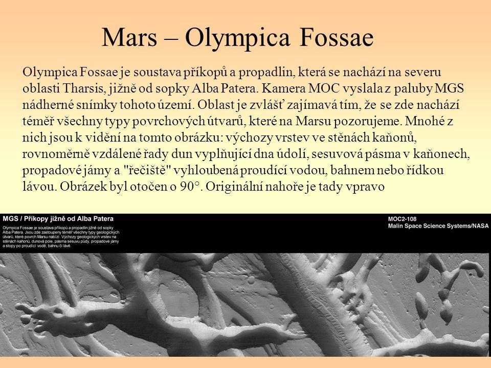 Mars – Olympica Fossae