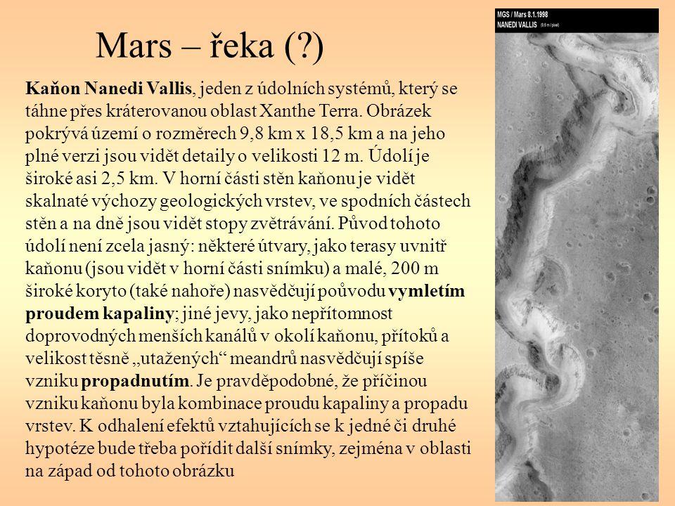 Mars – řeka ( )