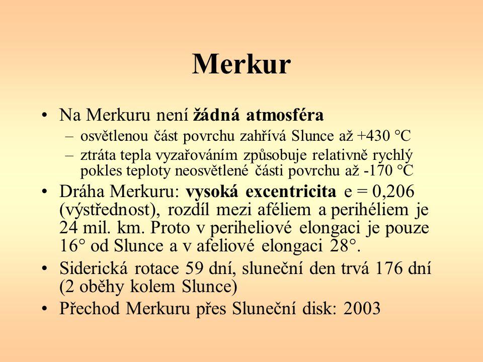Merkur Na Merkuru není žádná atmosféra
