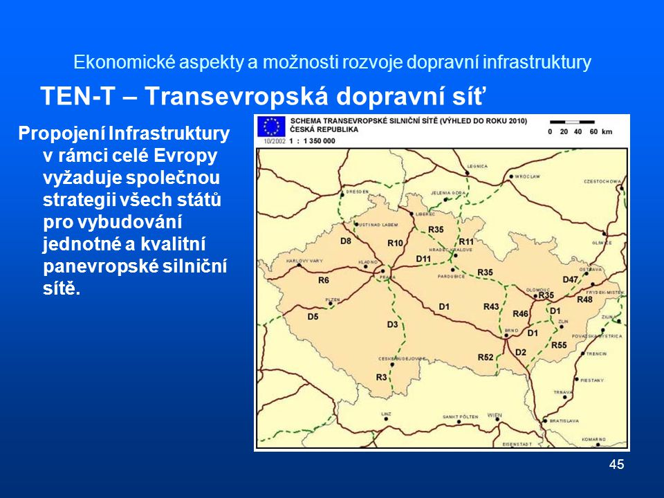 Ekonomické aspekty a možnosti rozvoje dopravní infrastruktury