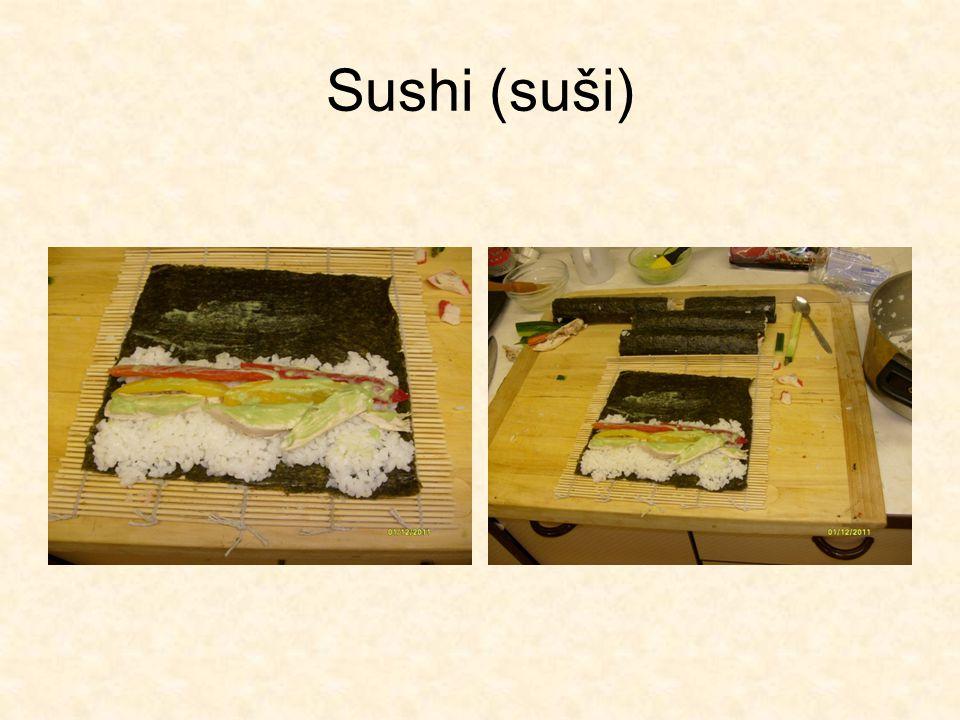 Sushi (suši)