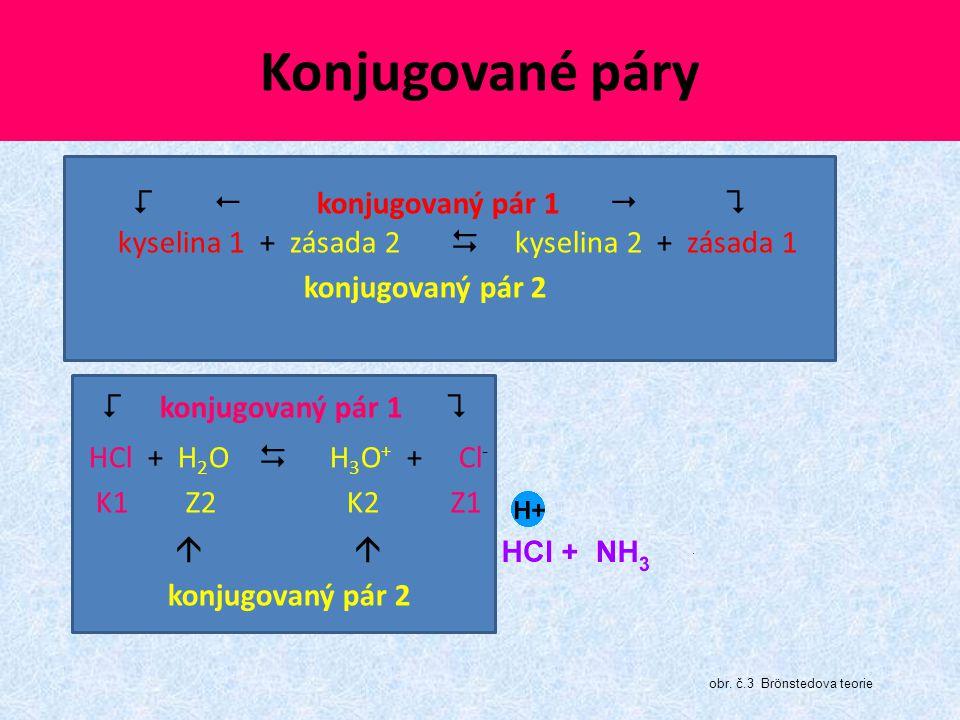 Konjugované páry  konjugovaný pár 1 