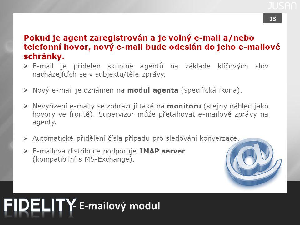 FIDELITY - E-mailový modul