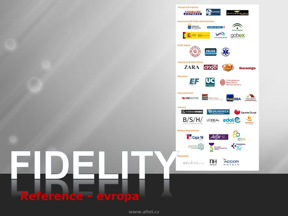 FIDELITY Reference - evropa