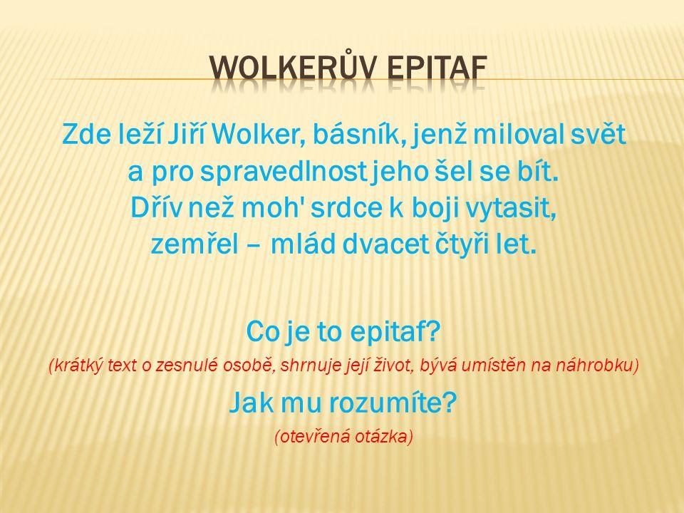 Wolkerův epitaf