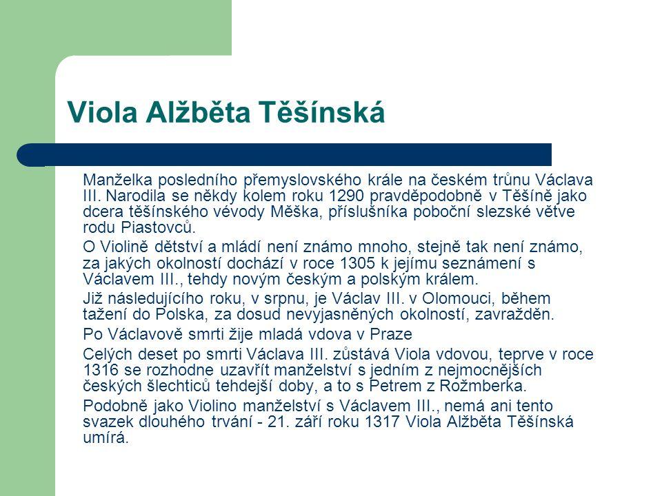 Viola Alžběta Těšínská