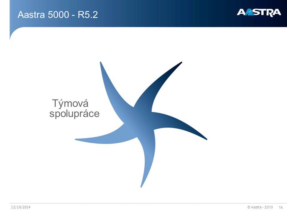 Aastra 5000 - R5.2 Týmová spolupráce 4/7/2017
