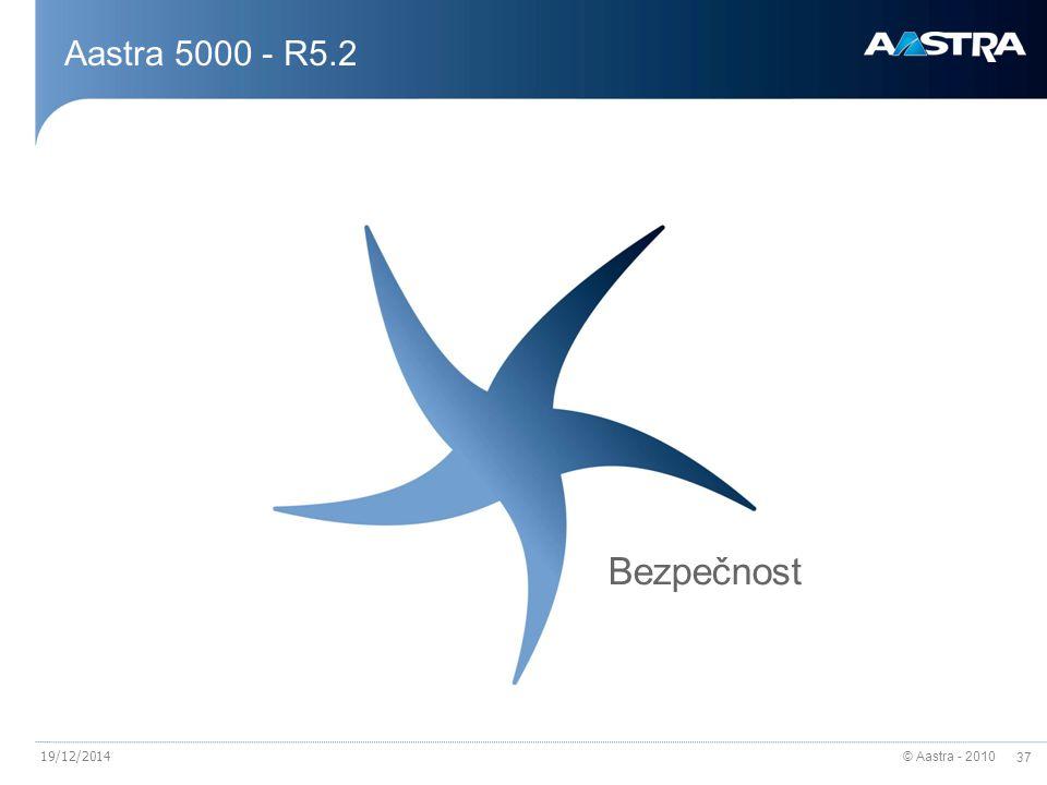 Aastra 5000 - R5.2 Bezpečnost 07/04/2017