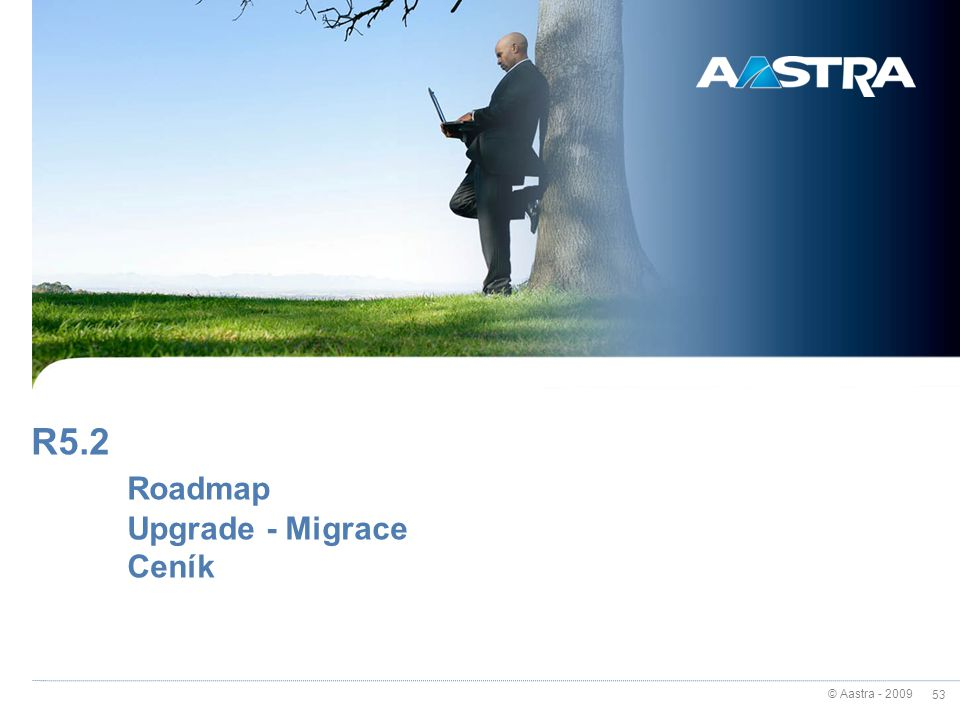R5.2 Roadmap Upgrade - Migrace Ceník