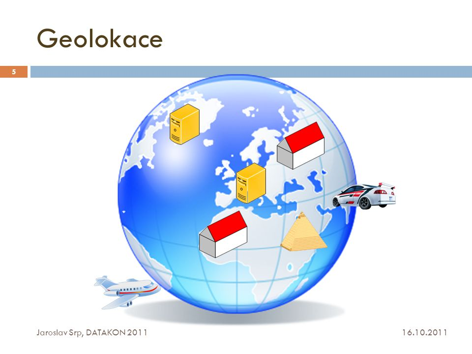 Geolokace Jaroslav Srp, DATAKON 2011 16.10.2011