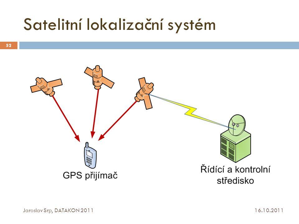 Satelitní lokalizační systém