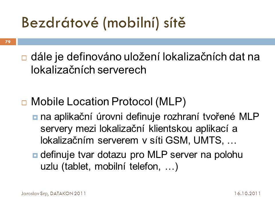 Bezdrátové (mobilní) sítě