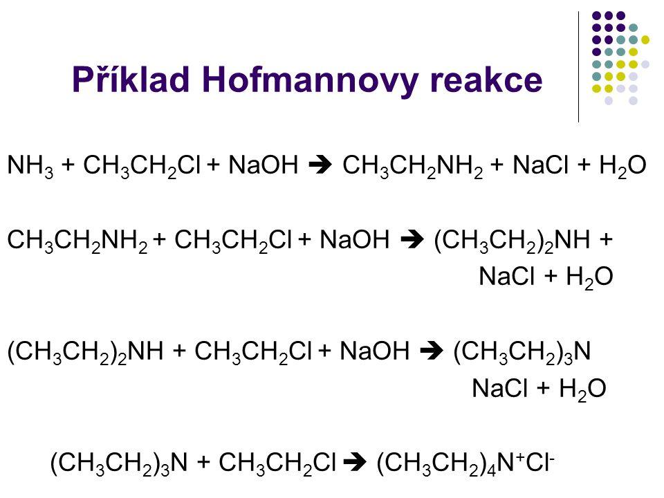 Příklad Hofmannovy reakce