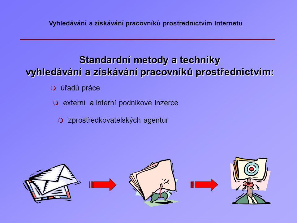 Standardní metody a techniky