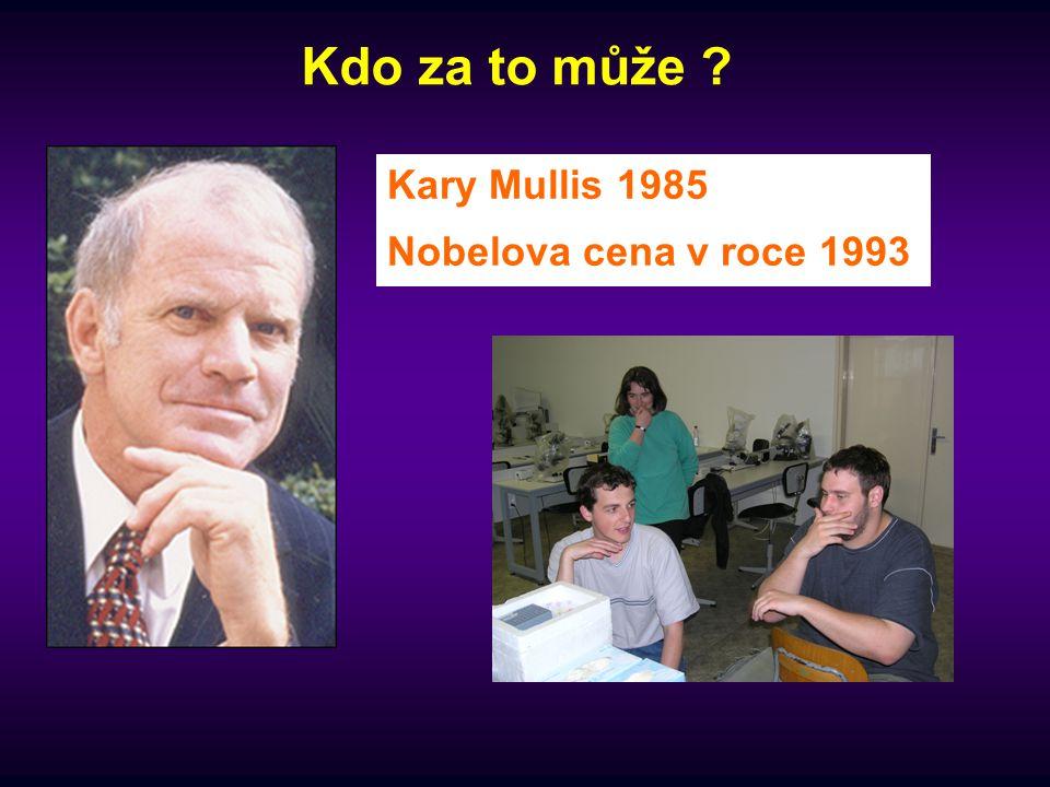 Kary Mullis 1985 Nobelova cena v roce 1993