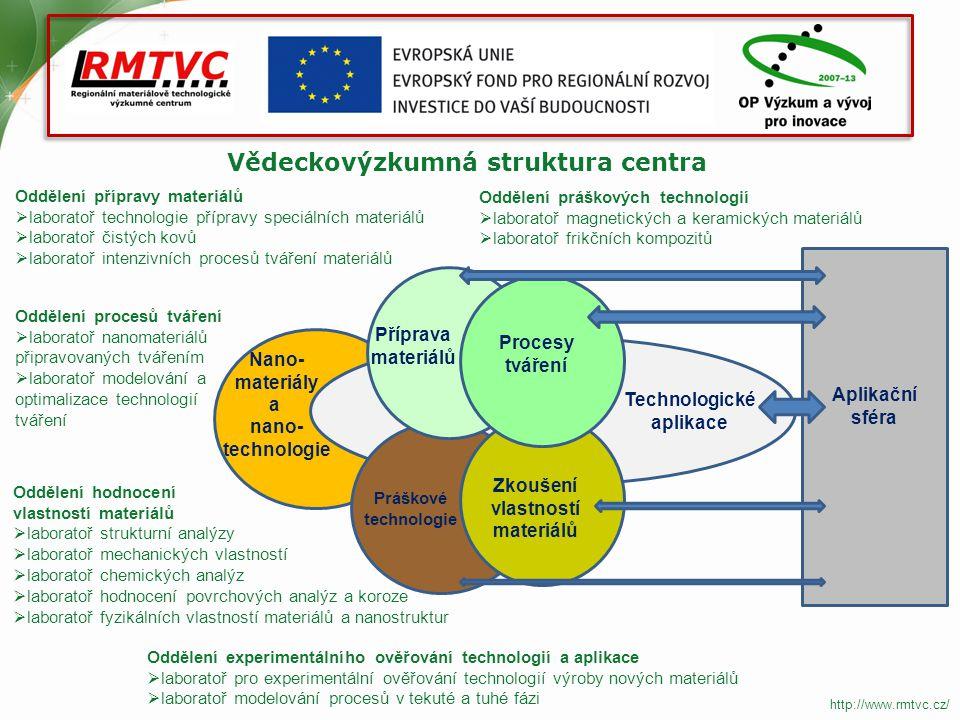 Vědeckovýzkumná struktura centra