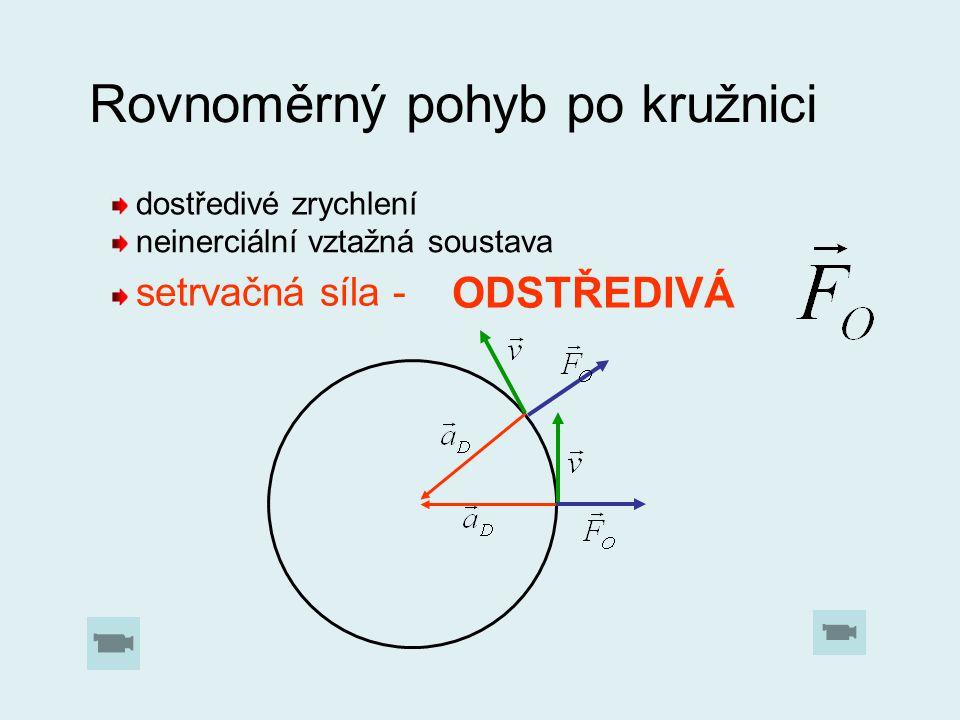 Rovnoměrný pohyb po kružnici