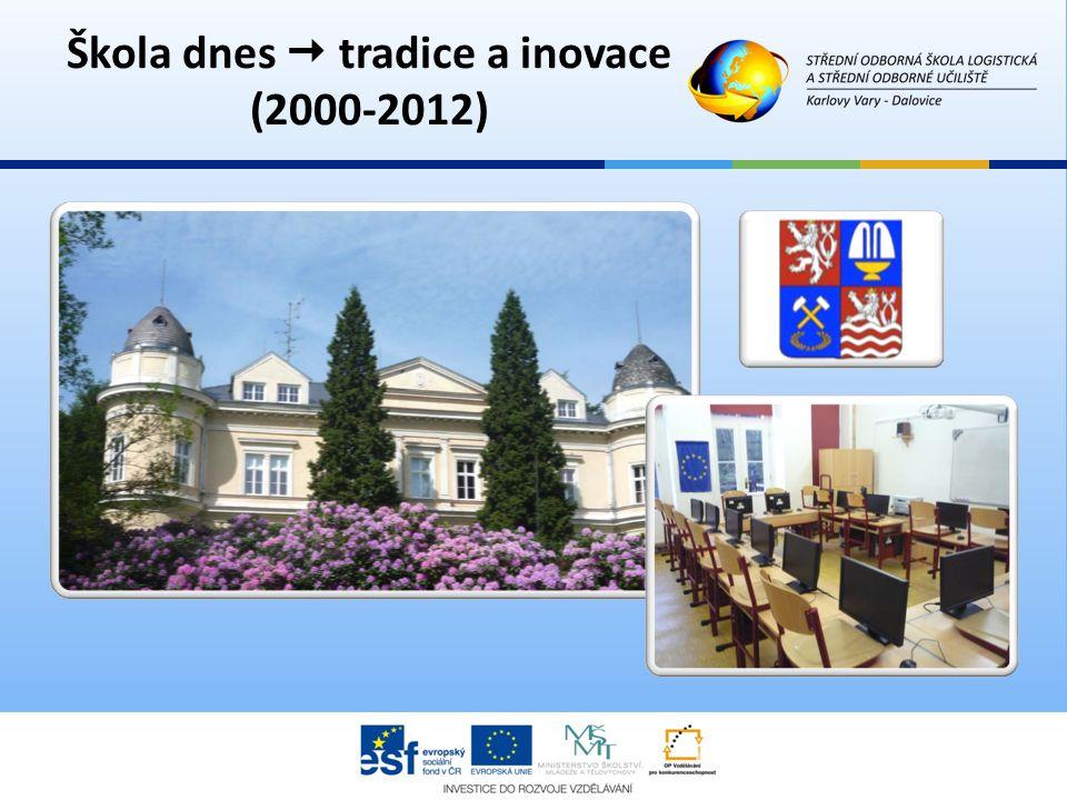 Škola dnes  tradice a inovace (2000-2012)