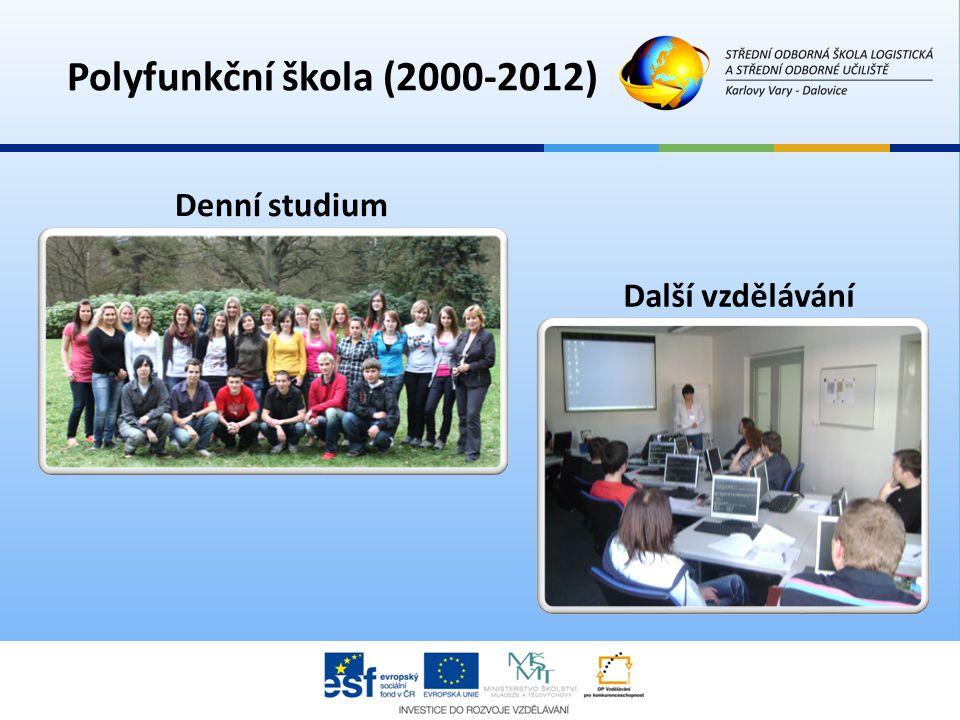 Polyfunkční škola (2000-2012) Denní studium Další vzdělávání