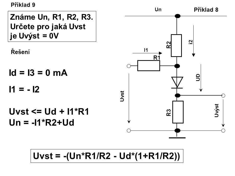 Uvst = -(Un*R1/R2 - Ud*(1+R1/R2))