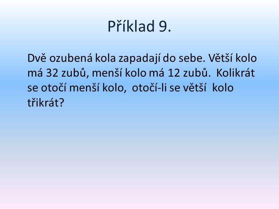 Příklad 9.