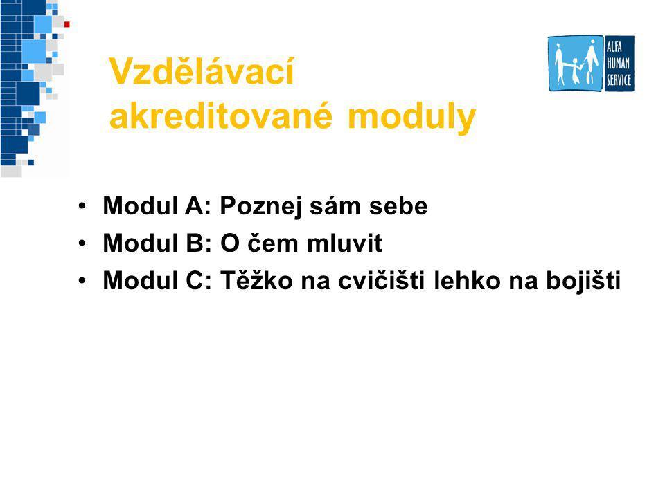Vzdělávací akreditované moduly