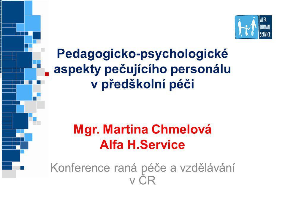 Konference raná péče a vzdělávání v ČR