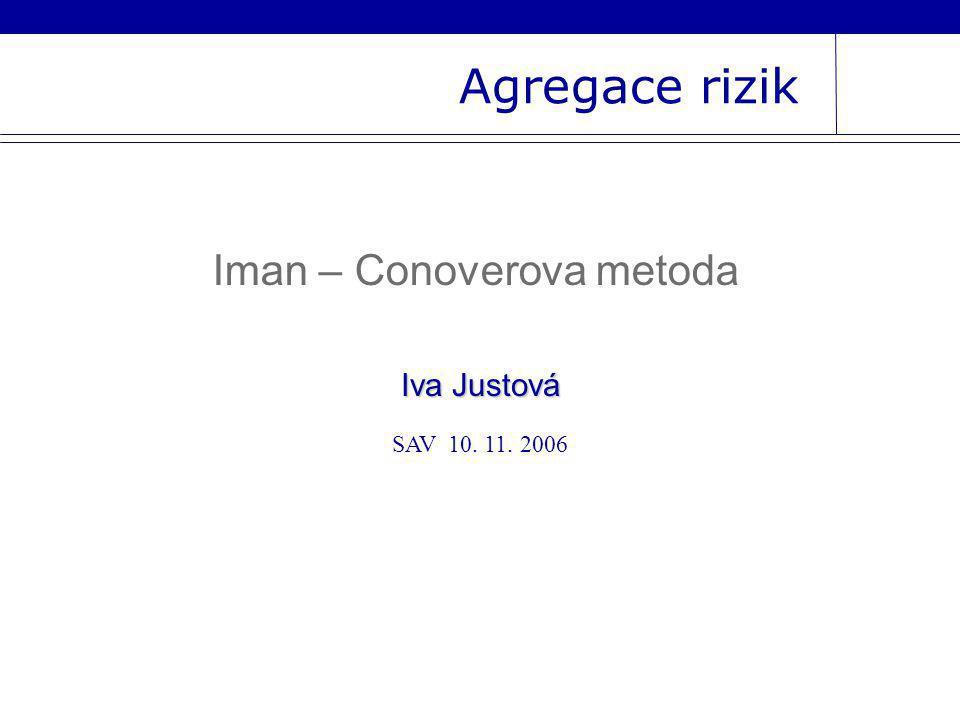 Iman – Conoverova metoda