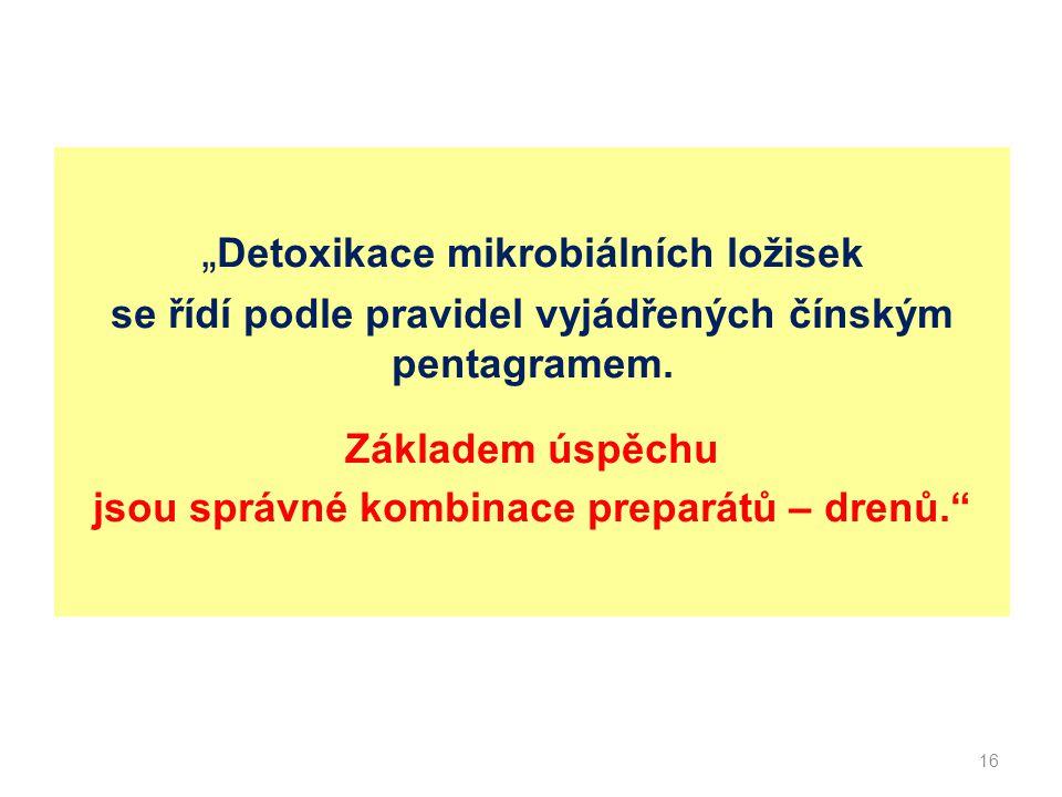 """""""Detoxikace mikrobiálních ložisek"""