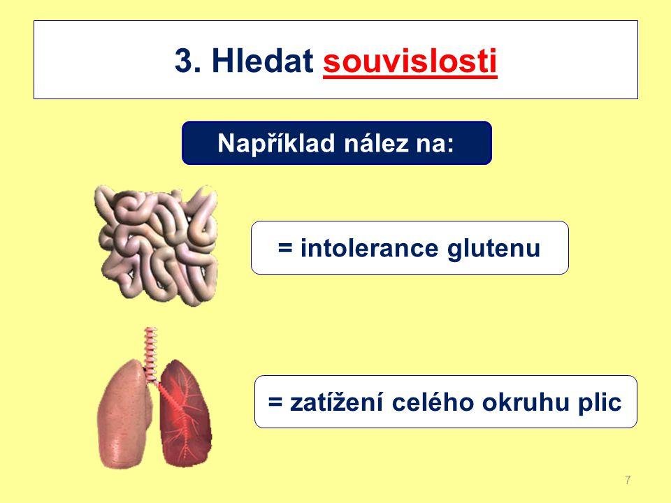 = zatížení celého okruhu plic