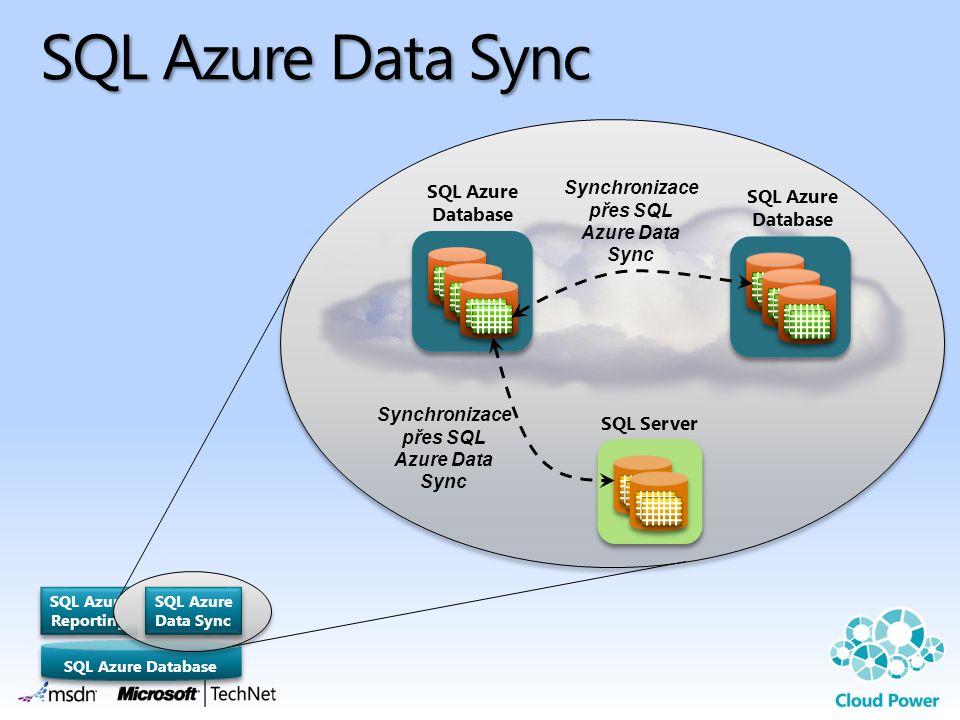 SQL Azure Data Sync Synchronizace přes SQL Azure Data Sync