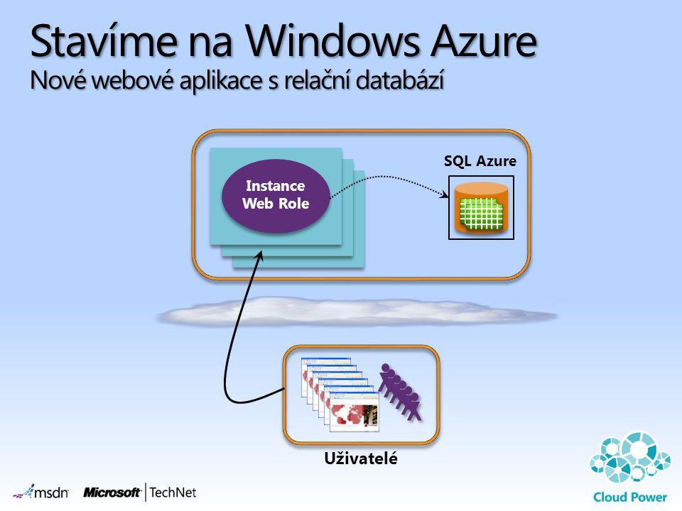 Stavíme na Windows Azure Nové webové aplikace s relační databází